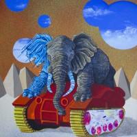 Elephant Driving Tankweb